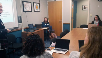 Karen Gavigan teaches the Charleston Cohort